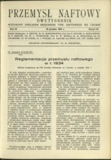 Przemysł Naftowy : 1934 : nr 24