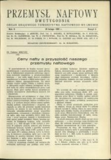 Przemysł Naftowy : 1935 : nr 4