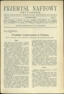 Przemysł Naftowy : 1935 : nr 7