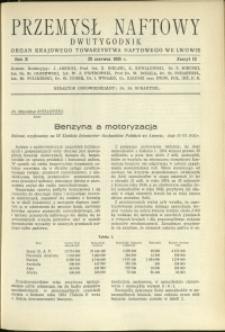 Przemysł Naftowy : 1935 : nr 12