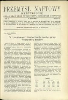 Przemysł Naftowy : 1935 : nr 13
