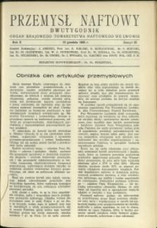 Przemysł Naftowy : 1935 : nr 23