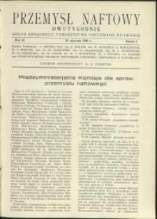 Przemysł Naftowy : 1936 : nr 2