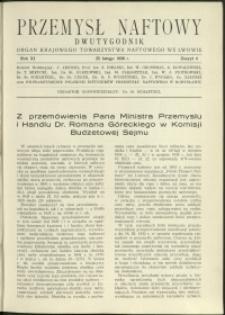 Przemysł Naftowy : 1936 : nr 4