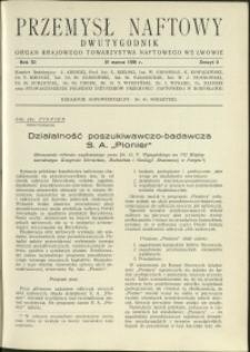 Przemysł Naftowy : 1936 : nr 5