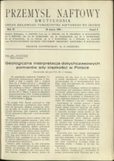 Przemysł Naftowy : 1936 : nr 6