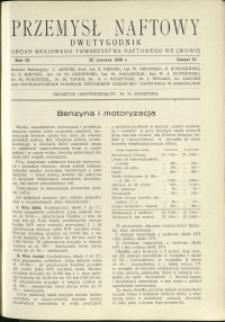 Przemysł Naftowy : 1936 : nr 12