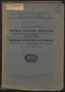 Polskie Zagłębie Węglowe w świetle badań geologicznych ostatnich lat dwudziestu : (1914-1934)