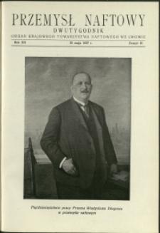 Przemysł Naftowy : 1937 : nr 10