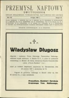 Przemysł Naftowy : 1937 : nr 13