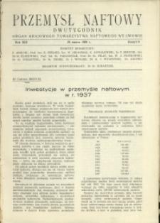 Przemysł Naftowy : 1938 : nr 6