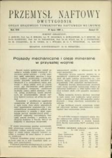 Przemysł Naftowy : 1938 : nr 13