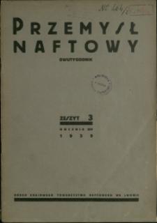 Przemysł Naftowy : 1939 : nr 3