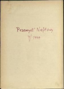 Przemysł Naftowy : 1939 : nr 4