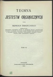 Teorya jestestw organicznych
