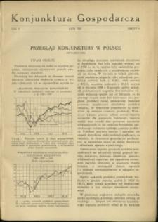 Konjunktura Gospodarcza : 1929 : nr 2