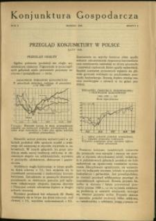 Konjunktura Gospodarcza : 1929 : nr 3