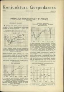 Konjunktura Gospodarcza : 1929 : nr 6