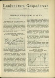 Konjunktura Gospodarcza : 1929 : nr 8