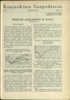 Konjunktura Gospodarcza : 1929 : nr 10