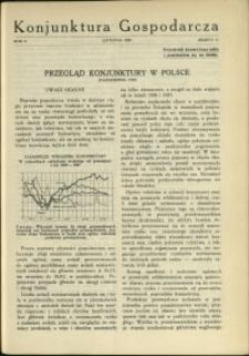 Konjunktura Gospodarcza : 1929 : nr 11