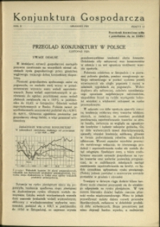 Konjunktura Gospodarcza : 1929 : nr 12