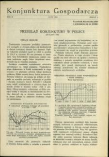 Konjunktura Gospodarcza : 1930 : nr 2