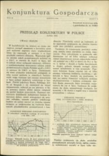 Konjunktura Gospodarcza : 1930 : nr 8