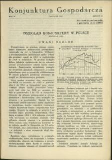 Konjunktura Gospodarcza : 1930 : nr 12