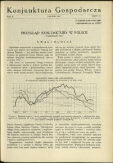 Konjunktura Gospodarcza : 1931 : nr 11