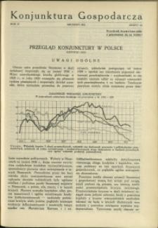Konjunktura Gospodarcza : 1931 : nr 12