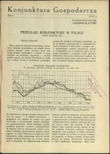 Konjunktura Gospodarcza : 1932 : nr 2
