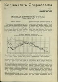 Konjunktura Gospodarcza : 1932 : nr 3