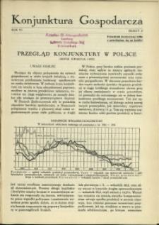 Konjunktura Gospodarcza : 1933 : nr 2
