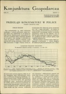 Konjunktura Gospodarcza : 1933 : nr 3
