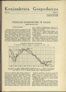 Konjunktura Gospodarcza : 1934 : nr 2