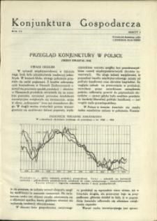 Konjunktura Gospodarcza : 1934 : nr 3