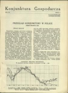 Konjunktura Gospodarcza : 1935 : nr 3