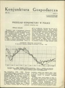Konjunktura Gospodarcza : 1935 : nr 4
