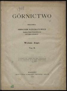 Górnictwo. T. 2