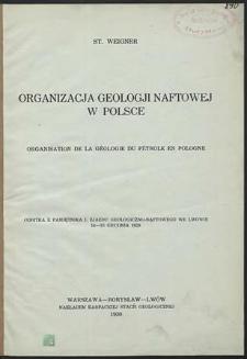 Organizacja geologii naftowej w Polsce