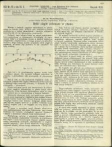 Czasopismo Techniczne : 1931 : nr 19