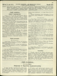 Czasopismo Techniczne : 1931 : nr 21