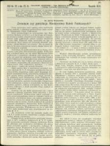 Czasopismo Techniczne : 1931 : nr 22