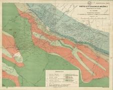 Borysław-Tustanowice-Mraźnica : Mapa geologiczna