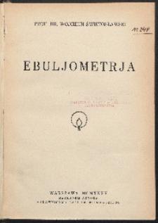 Ebuljometrja