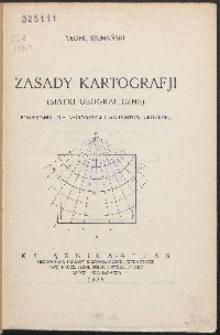 Zasady kartografji : (siatki geograficzne)