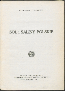 Sól i saliny polskie