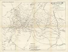 Kopalnie nafty i gazów ziemnych w Polsce. T. 2. Borysław. cz.1, Geologja : Mapy