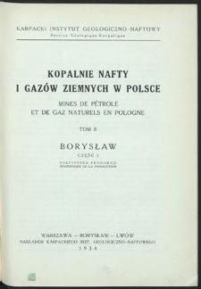 Kopalnie nafty i gazów ziemnych w Polsce. T. 2, Borysław. Cz. 2, Statystyka produkcji